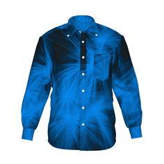 『Shine グラフィックシャツ ブルー』 - 7th Spirits