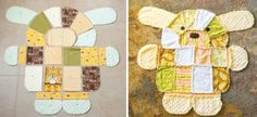Puppy Dog Rag Quilt Pattern Is A Must Make
