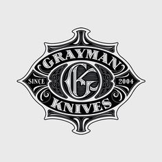 Grayman Knives Badge By Andreas Ejerfors