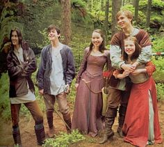 "The main cast of ""Prince Caspian"" I <3 Narnia"