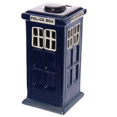 Police box money box tardis type #ceramic #vintage #london,  View more on the LINK: 	http://www.zeppy.io/product/gb/2/321768676195/