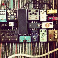 @jakeowen31's pedal board. Nice selection of pedals here.