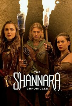 The Shannara chronicles- watched this on Netflix recently. I didn't expect much, but was pleasantly surprised! Pretty good graphics, some really good costuming, decent story even if the dialogue is sometimes painful, & a pretty good cast! Recommend for fantasy nerds that can embrace some cheese-factor :)