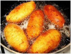 Тающие во рту пирожки - простой рецепт » Женский Мир Batter Recipe, Baked Potato, Bread Recipes, Appetizers, Pizza, Potatoes, Ice Cream, Cookies, Vegetables
