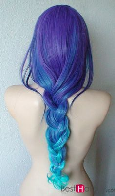 Amazing Blue Ombre Hair---And now it is 15% Off only in #Besthairbuy shop!