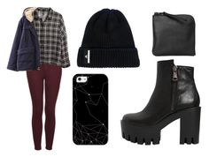 """""""Sin título #896"""" by immoverthemoon on Polyvore featuring moda, Topshop, H&M, Strategia, Casetify, Chicnova Fashion, adidas y Xenab Lone"""