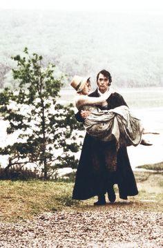 Kate Winslet (Marianne Dashwood) & Greg Wise (John Willoughby) - Sense and Sensibility (1995) #janeausten #anglee