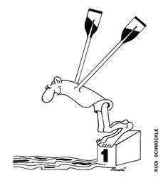 Caricatura de RUDI SCHMUCKLE, publicata in almanahul PERPETUUM COMIC '97 editat de URZICA, revista de satira si umor din Romania