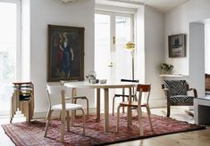 La table « 91 » par Alvar Aalto pour Artek