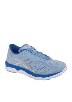 ASICS Blue Womens 33-FA Running Shoe