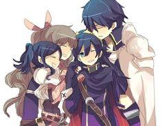 Chrom, Morgan, Cynthia & Lucina - Fire Emblem: Awakening by Satori