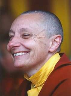 Jetsunma Tenzin Palmo. Read her biography and was floored. She is one of my biggest heroes.