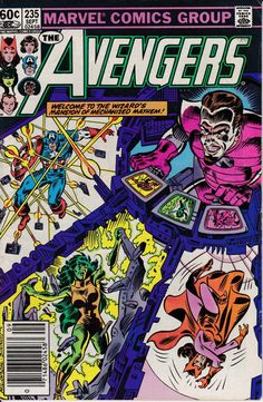 Avengers 1963 1st Series 235 September 1983 Issue by ViewObscura, $3.00