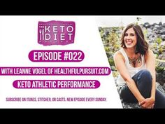 """Interview with Tammy Alford, a keto athlete who's adjusted keto to work for her training schedule, health, and wellbeing.    Click """"Show More"""" for show notes…"""
