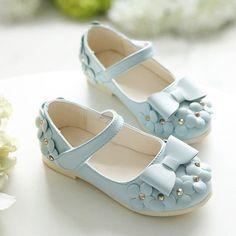 Tiny Baby Shoes | Western Sky Blue Ballerina