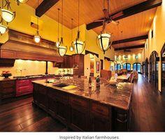 Italian Rustic dream kitchen