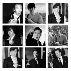 Benedict Cumberbatch. Why does Benedict like so much pointing  things and people???  pinterest.com/... pinterest.com/...