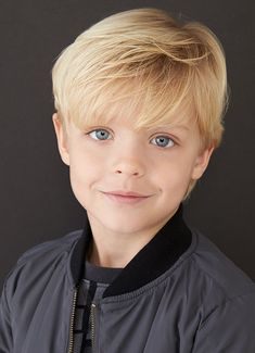 Kid actor headshot photography by brandon tabiolo. Blonde Kids, Blonde Hair Makeup, Blonde Hair Blue Eyes, Purple Hair, Boys Long Hairstyles, Boy Haircuts, Headshot Photography, Beach Hair, Gold Hair