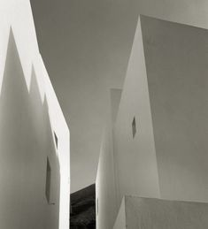 """whileatsea:""""Stromboli (Isole Eolie, the [ Sicily, Italy ] series© Dominique Bollinger"""" Stromboli, Dominique, Sicily Italy, Space Architecture, Black And White Photography, French, Gelatin, Journal, Sicilian"""