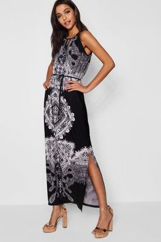 07b590c98927 online shopping for Annabelle Keyhole Paisley Maxi Dress from top store.  See new offer for Annabelle Keyhole Paisley Maxi Dress