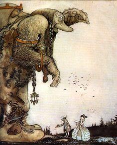 """Artículo sobre el ilustrador John Bauer y descarga de ebook """"Dos cuentos suecos"""""""