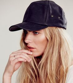 Free People Goleta Leather Baseball Cap ($58)  If you don't already have a black leather baseball cap in your closet, the friendly price of this one should be encouragement enough.