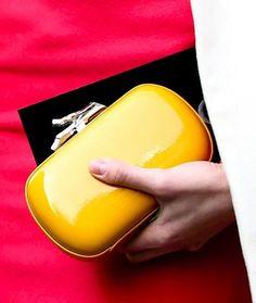 Milan Fashion Week Fall 2013 #streetstyle #MFW #fashionweek #bags