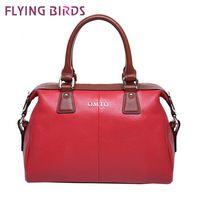 FLYING BIRDS ! 2014 marca famosa bolsa de hombro bolso europeo y americano Mensajero Bolsas mujeres bolso de cuero nuevo LS1464