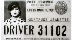 """""""New York's First Female Cab Driver Is AwesomeWhere is the movie about ninety-six year-old Gertrude Hadley Jeanette? Not only was she New York City's first female cab driver, she was also the first female licensed motorcyclist. And that was before a distinguished theater career, and as a black woman in profoundly racist times.licensedmotorcyclist. And that was before a distinguished theater career, and as a black woman in profoundly racist times."""