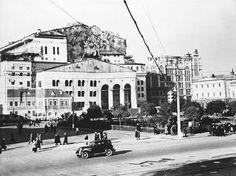 Москва, 1941г. Маскировка Большого театра.