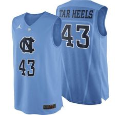 New Nike jersey. Go Heels!