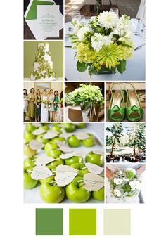 20 New Wedding Colour Combos to help personalize your wedding.