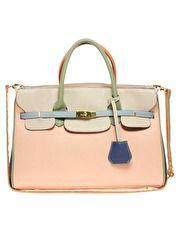 Color Block Smart Bag