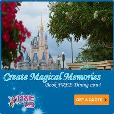 Tips from the Disney Diva: FREE DINING for Walt Disney World in September!