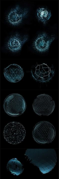 Awesome!/ Stuff/ Blue/ Interface/ Design/ Creative/ Fun/ Cool/ Neat/ Super/ Captivating/Graphics/ -#TRON #sphere #GMUNK. If you like UX, design, or design thinking, check out theuxblog.com (Cool Art Website)