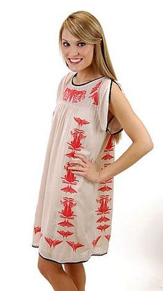 One day of not checking The Blue Door website (darn work!) and I miss this...Sand & Sea Dress. ADORBS.