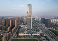 SOM adds glass skyscraper to growing Chinese tech district