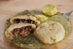 Hamousta-Kurdish Sour Dumpling Soup