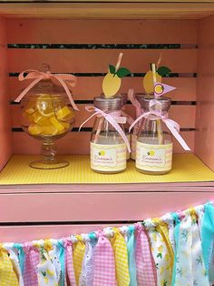 Pink Lemonade Party: Emerson is Special Birthday, Girl Birthday, Birthday Parties, Party Centerpieces, Party Favors, Pink Lemonade Party, Drinking Jars, Pink Carnations, Mini Bottles