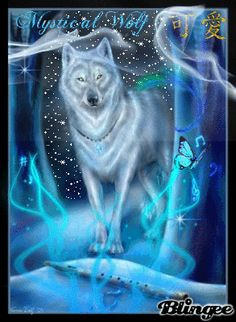 Blingee Wolves | tags mystical music wolf wolves