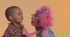Thank you for these, Sesame Street.