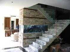 Great Home Decor Ideas: Aquariums as Home Decor Home Aquarium, Under Stairs, Decoration, Interior Inspiration, Building A House, Home Improvement, Cool Designs, Fish Tanks, Dreams