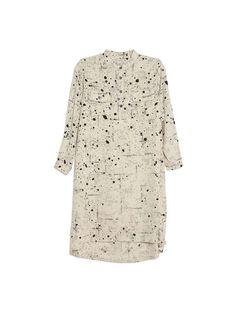 SeaDressSplatter Shirt Dress