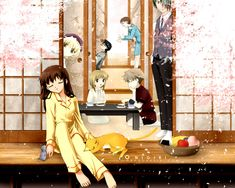 Fruits Basket by Takaya Natsuki. By far the best anime show I have ever seen!