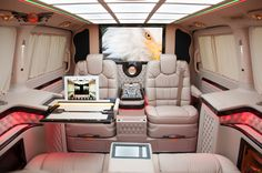 Luxury Mercedes Benz V-Class V250 Avantgarde VIP Edition! Amazing design with exclusive interior! Design and Quality made in Germany by KLASSEN MANUFACTURE!