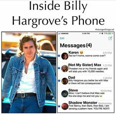 Read 6 from the story Memes Stranger Things by (TheSilentScream) with 932 reads. Stranger Things Have Happened, Stranger Things Quote, Stranger Things Netflix, Stranger Things Phone Case, Stranger Things Season 3, Funny Quotes, Funny Memes, Jokes, Shadow Monster