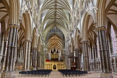 Here is a photograph taken from Lincoln Cathedral.  Located in Lincoln, Lincolnshire, England, UK.