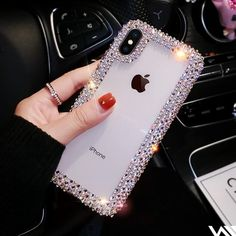 Diamond Edge Phone Case Back Cover for iPhone XS - Iphone XS - Ideas of Iphone XS for sales. - Diamond Edge Phone Case Back Cover for iPhone XS Iphone 7 Plus, Iphone 8, Iphone 6 Plus Case, Iphone Phone Cases, Apple Iphone, Iphone Notes, Cool Iphone Cases, Phone Covers, Sparkly Phone Cases