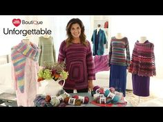 Red Heart Boutique Unforgettable Yarn is Perfect for Sweaters & Accessories | Red Heart