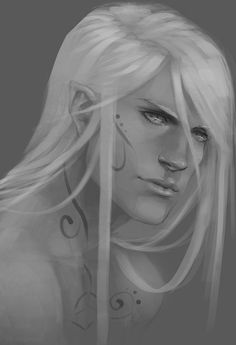 Rowan Whitethorn - Not enough tattooing to fit the character but fits my idea otherwise, beautiful while still masculine and fierce